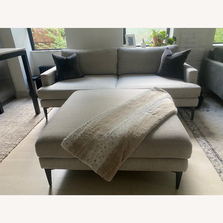 West Elm Sofa & Ottoman - image-3