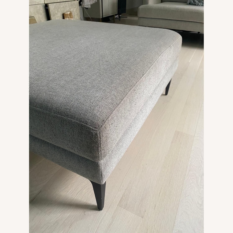 West Elm Sofa & Ottoman - image-4
