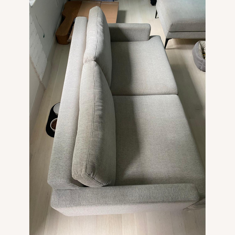 West Elm Sofa & Ottoman - image-2