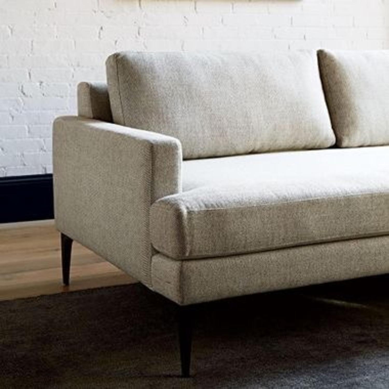 West Elm Sofa & Ottoman - image-6