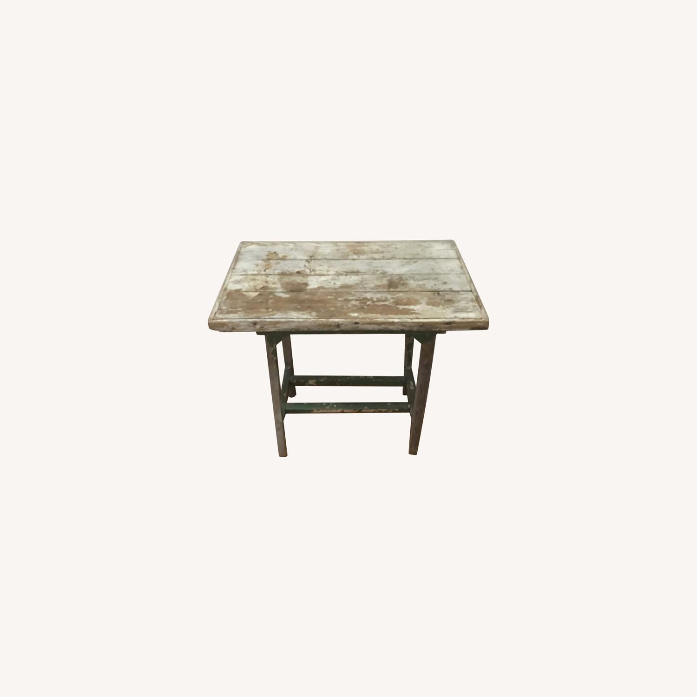 Vintage Artist's Side Table - image-0