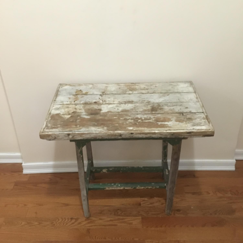 Vintage Artist's Side Table - image-1