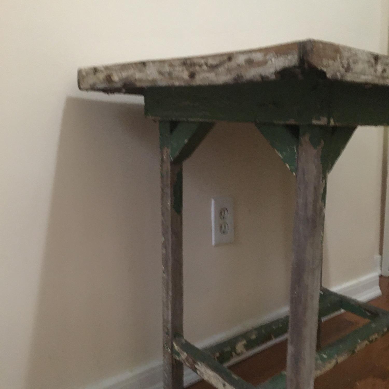 Vintage Artist's Side Table - image-2