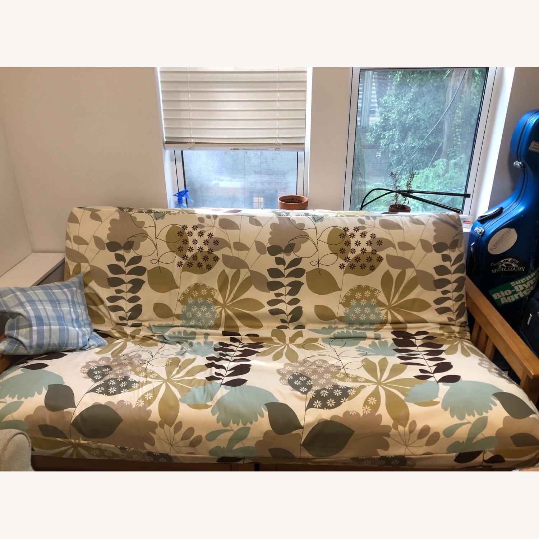Queen Size Hardwood futon - image-2