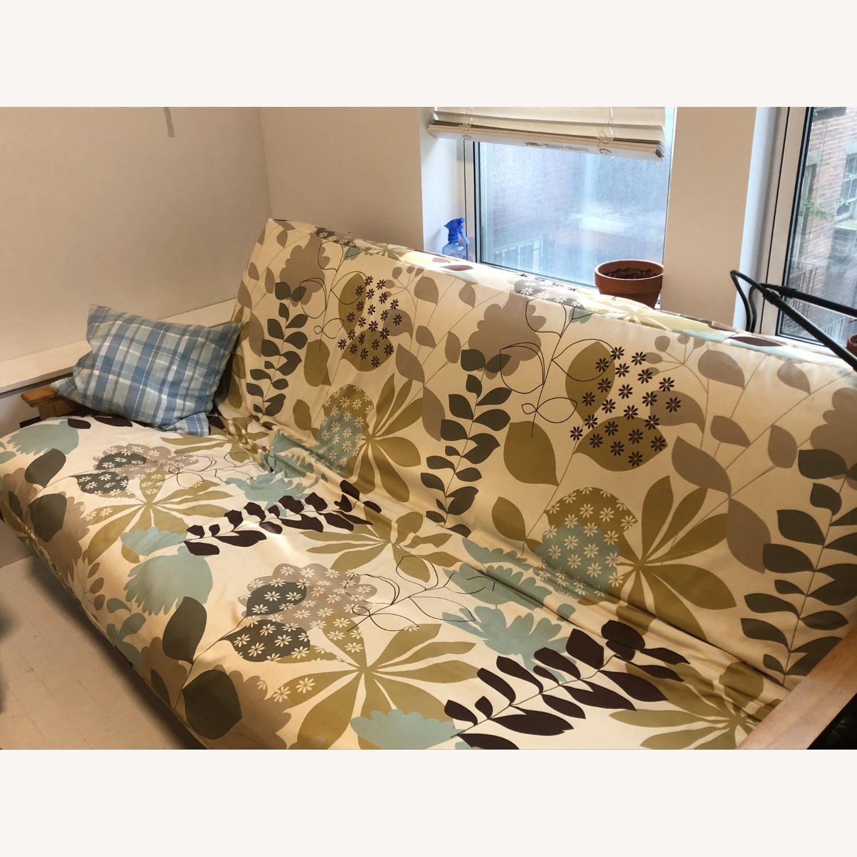Queen Size Hardwood futon - image-3