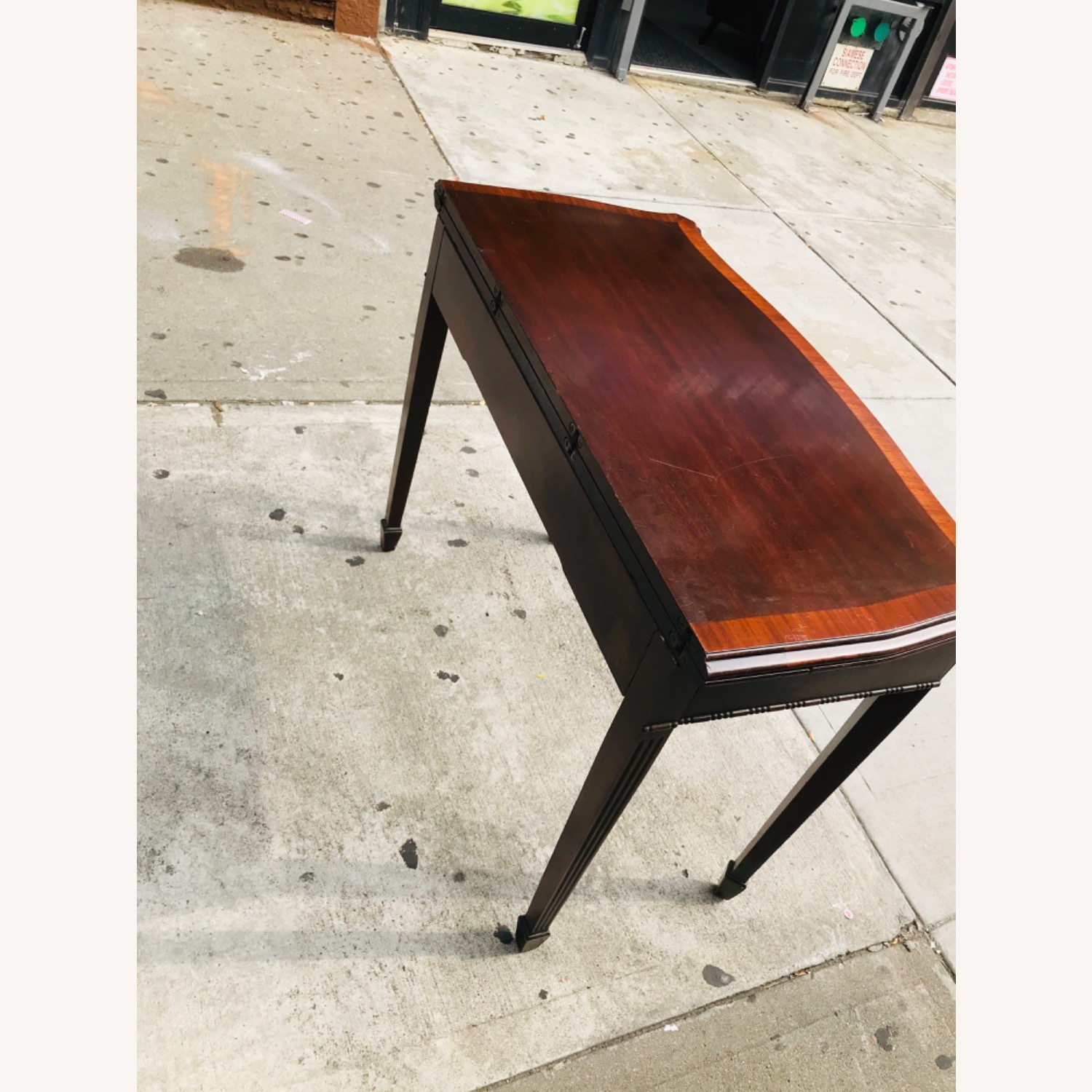 Antique 1920s Mahogany Table w/3 Leaves  - image-10