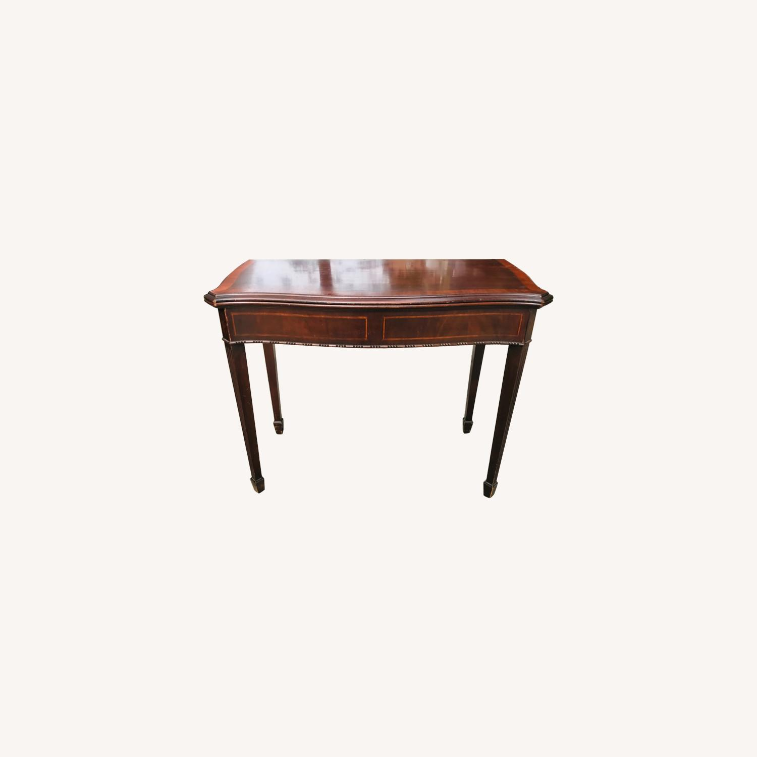 Antique 1920s Mahogany Table w/3 Leaves  - image-0