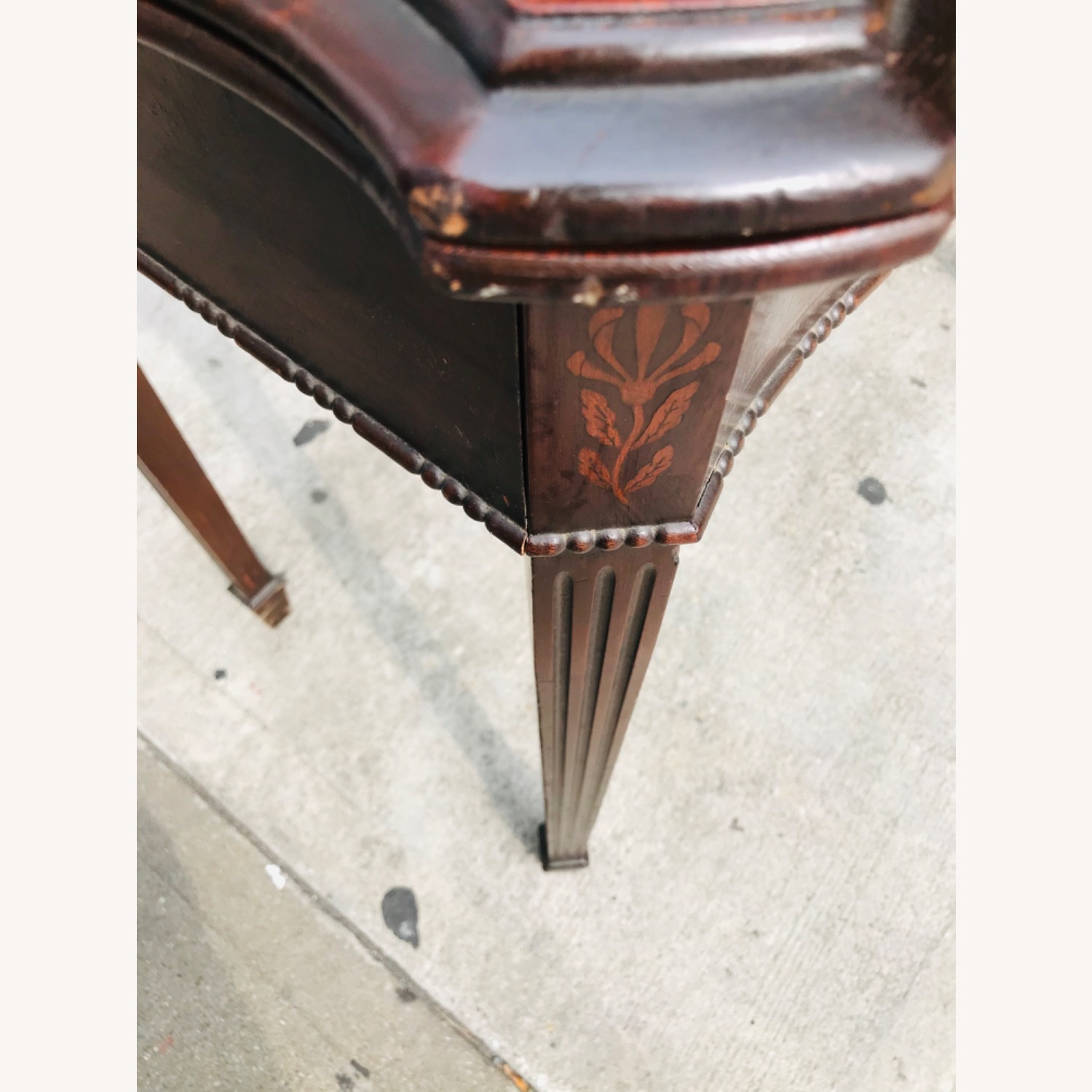 Antique 1920s Mahogany Table w/3 Leaves  - image-15