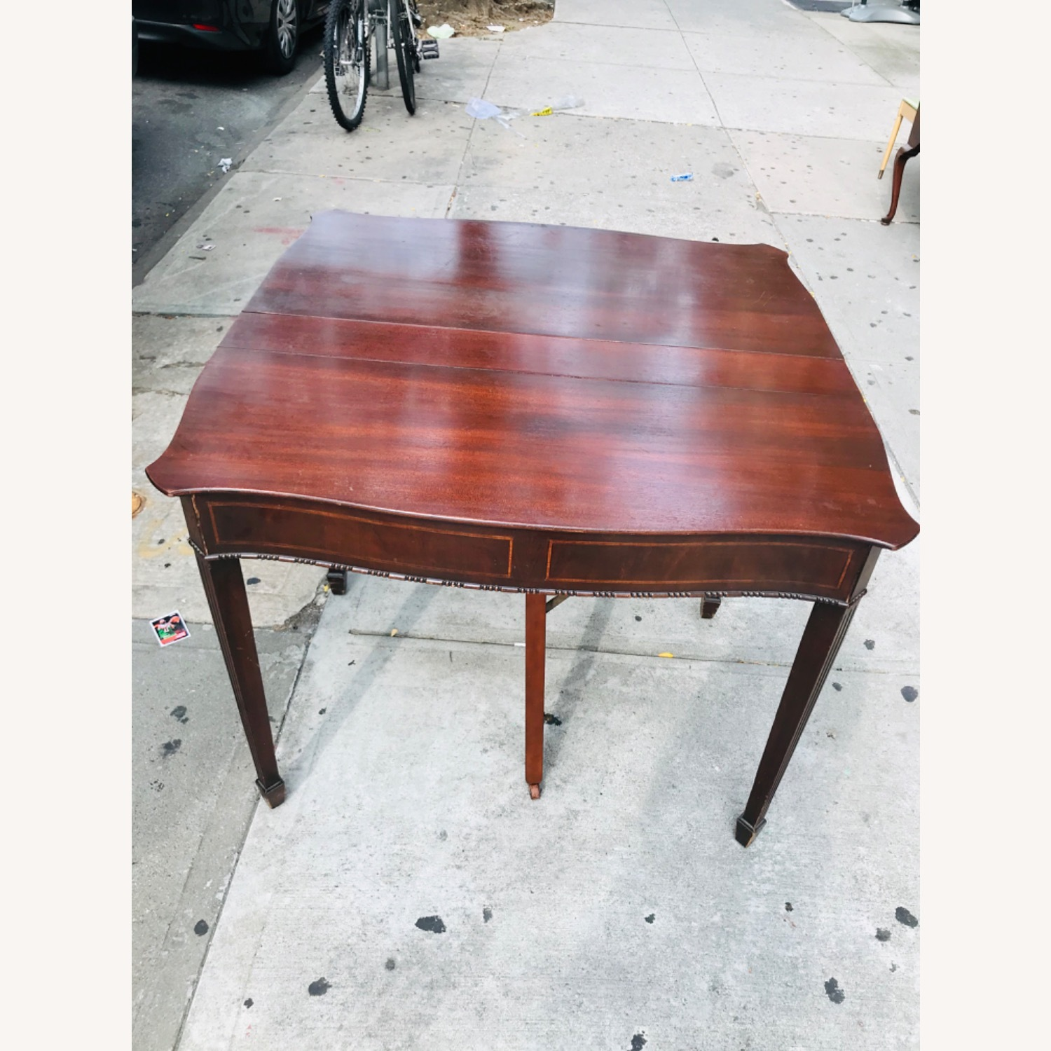 Antique 1920s Mahogany Table w/3 Leaves  - image-28