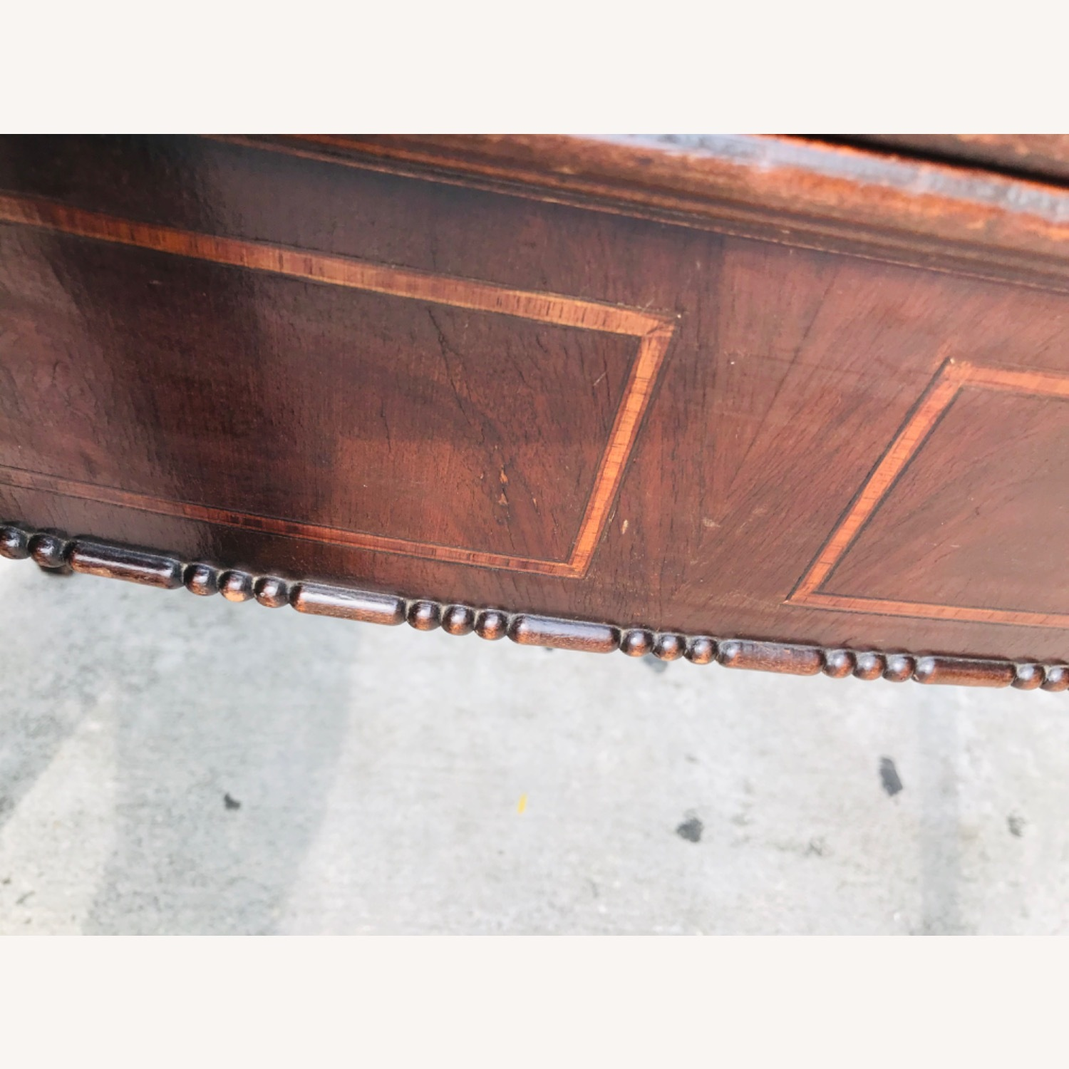Antique 1920s Mahogany Table w/3 Leaves  - image-17