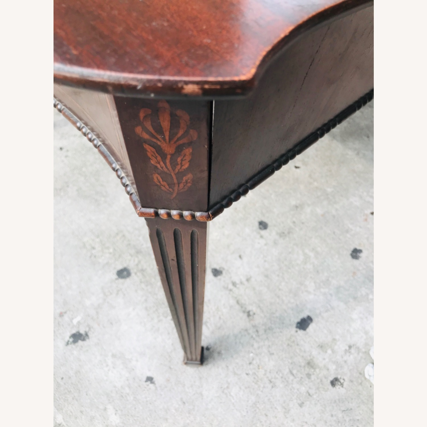 Antique 1920s Mahogany Table w/3 Leaves  - image-21