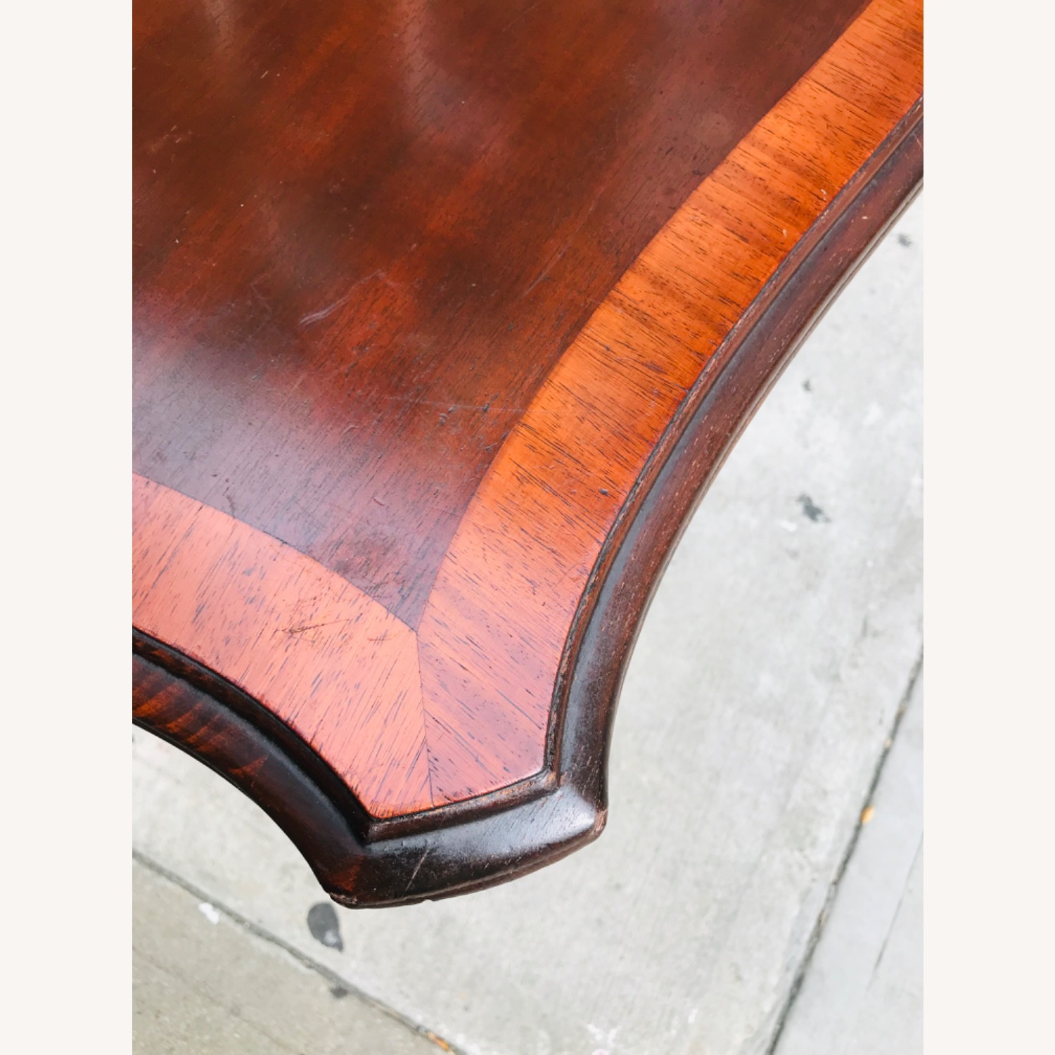 Antique 1920s Mahogany Table w/3 Leaves  - image-11
