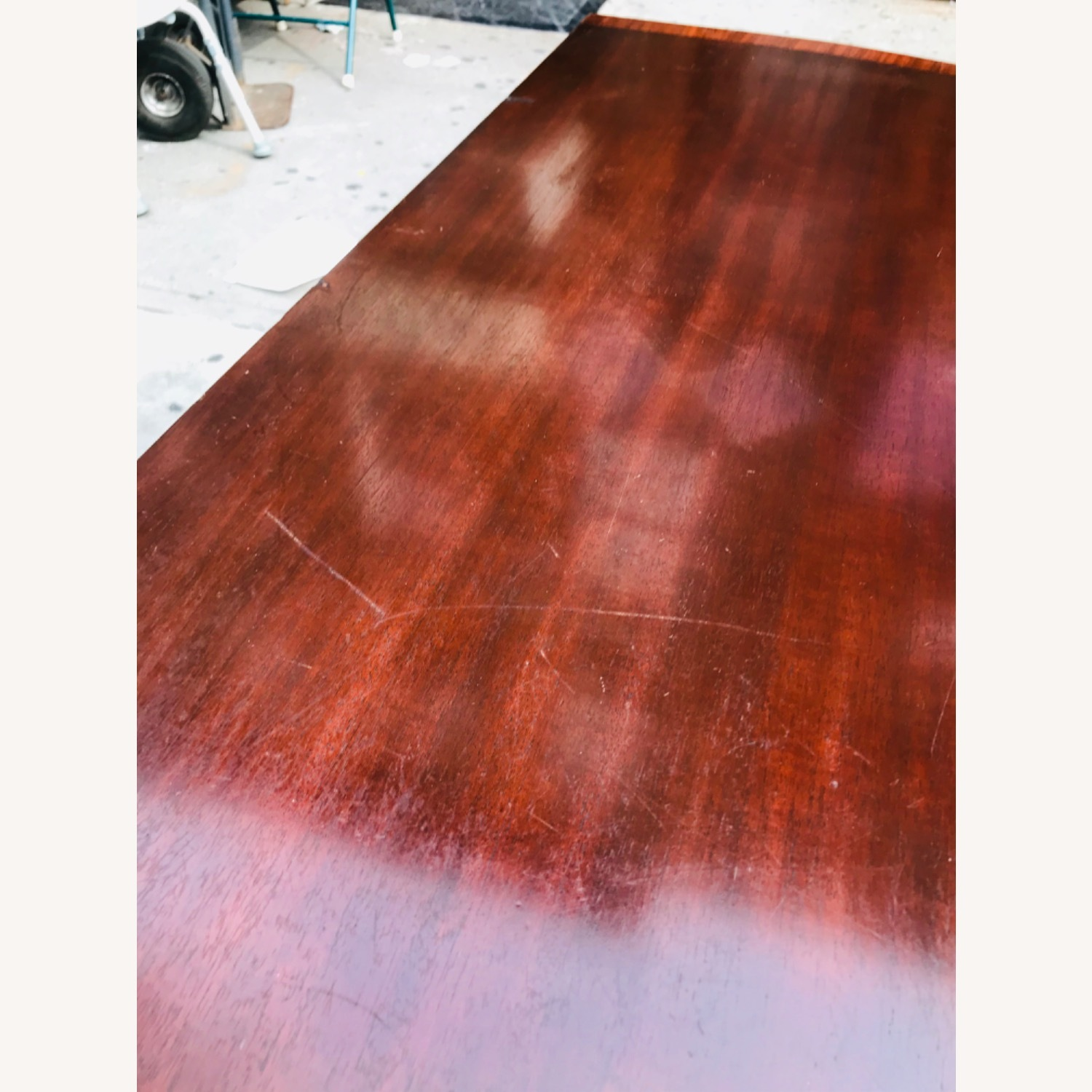 Antique 1920s Mahogany Table w/3 Leaves  - image-13