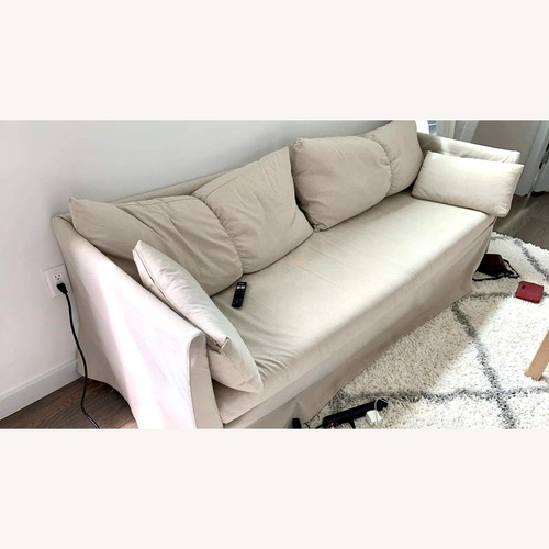 Used IKEA Beige Couch for sale on AptDeco