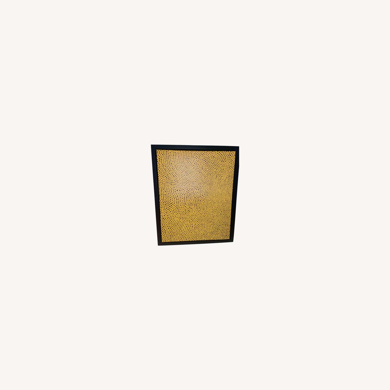 Yayoi Kusama infinity polka dot canvas - image-0