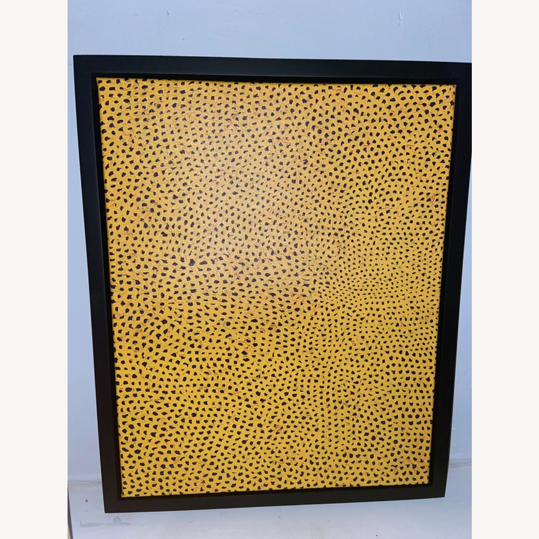 Yayoi Kusama infinity polka dot canvas - image-3