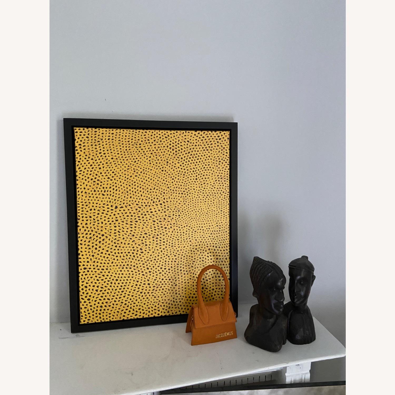 Yayoi Kusama infinity polka dot canvas - image-1
