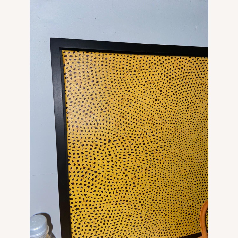 Yayoi Kusama infinity polka dot canvas - image-2