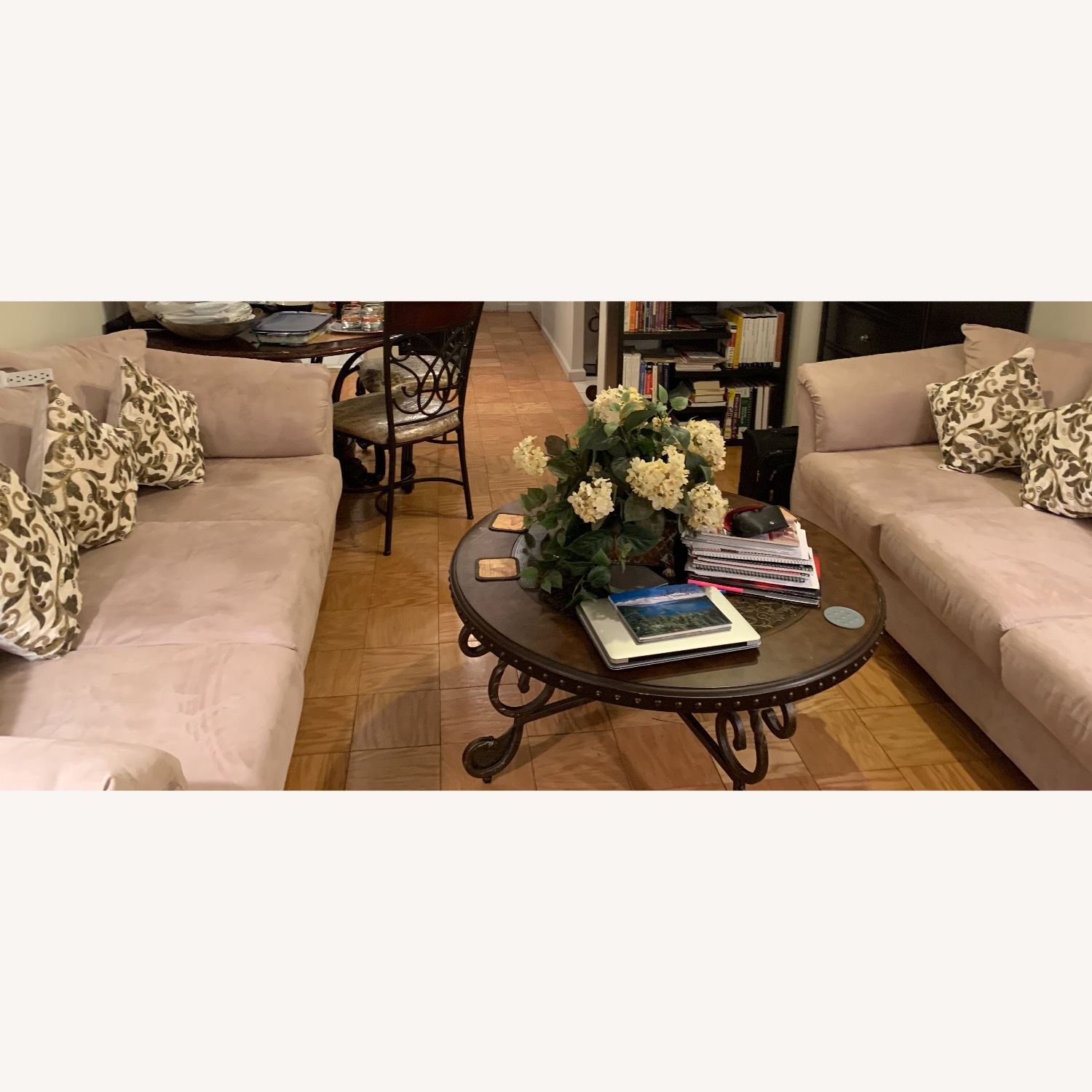 Antique Ornate Coffee Table - image-1