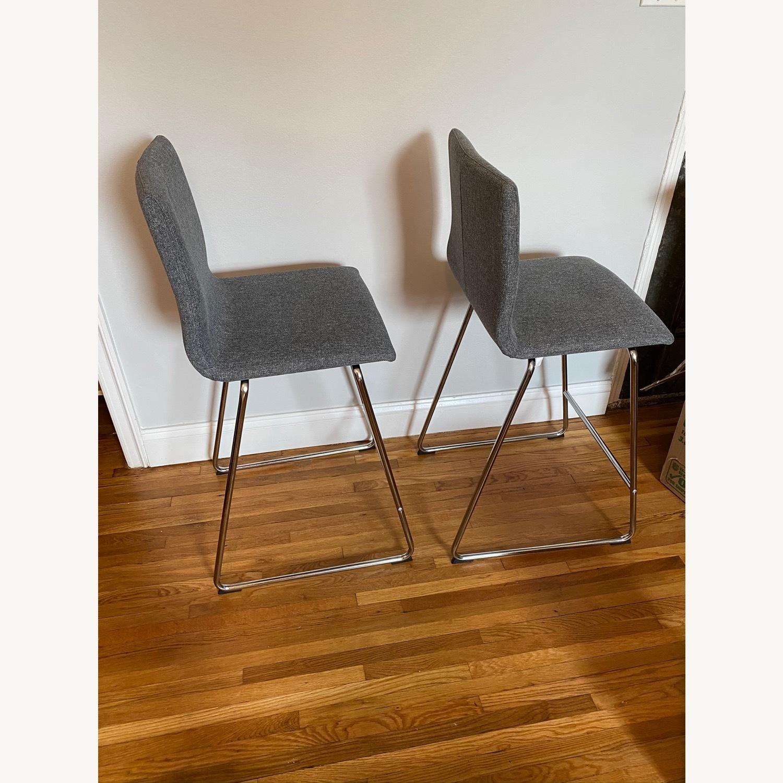 IKEA Volfgang Bar Stools Grey - image-1