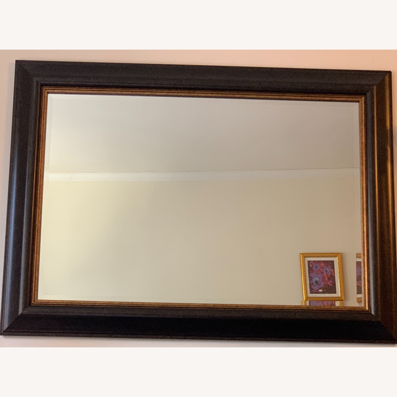 Elegant Mirror with Frame - image-1