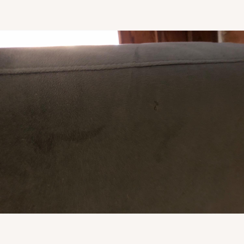 West Elm Navy Blue sofa - image-4