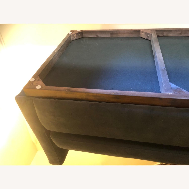 West Elm Navy Blue sofa - image-3