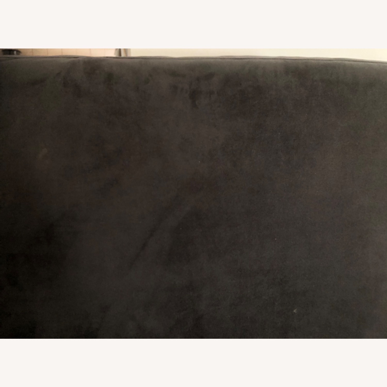 West Elm Navy Blue sofa - image-2