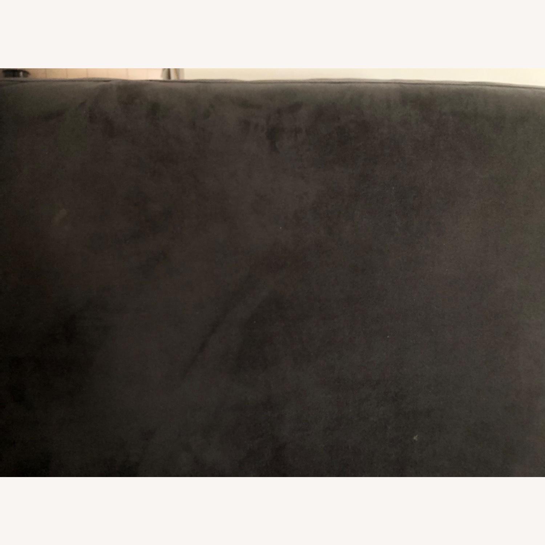 West Elm Navy Blue sofa - image-1