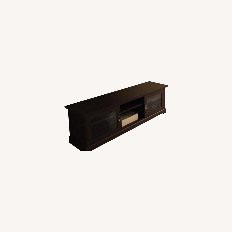 Elegant TV stand with storage - image-0