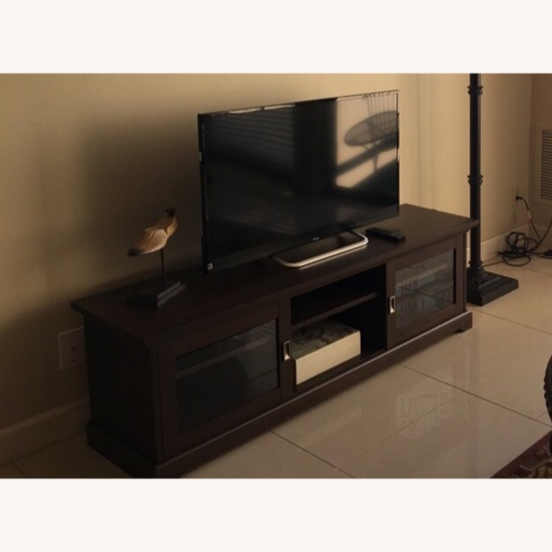 Elegant TV stand with storage - image-3