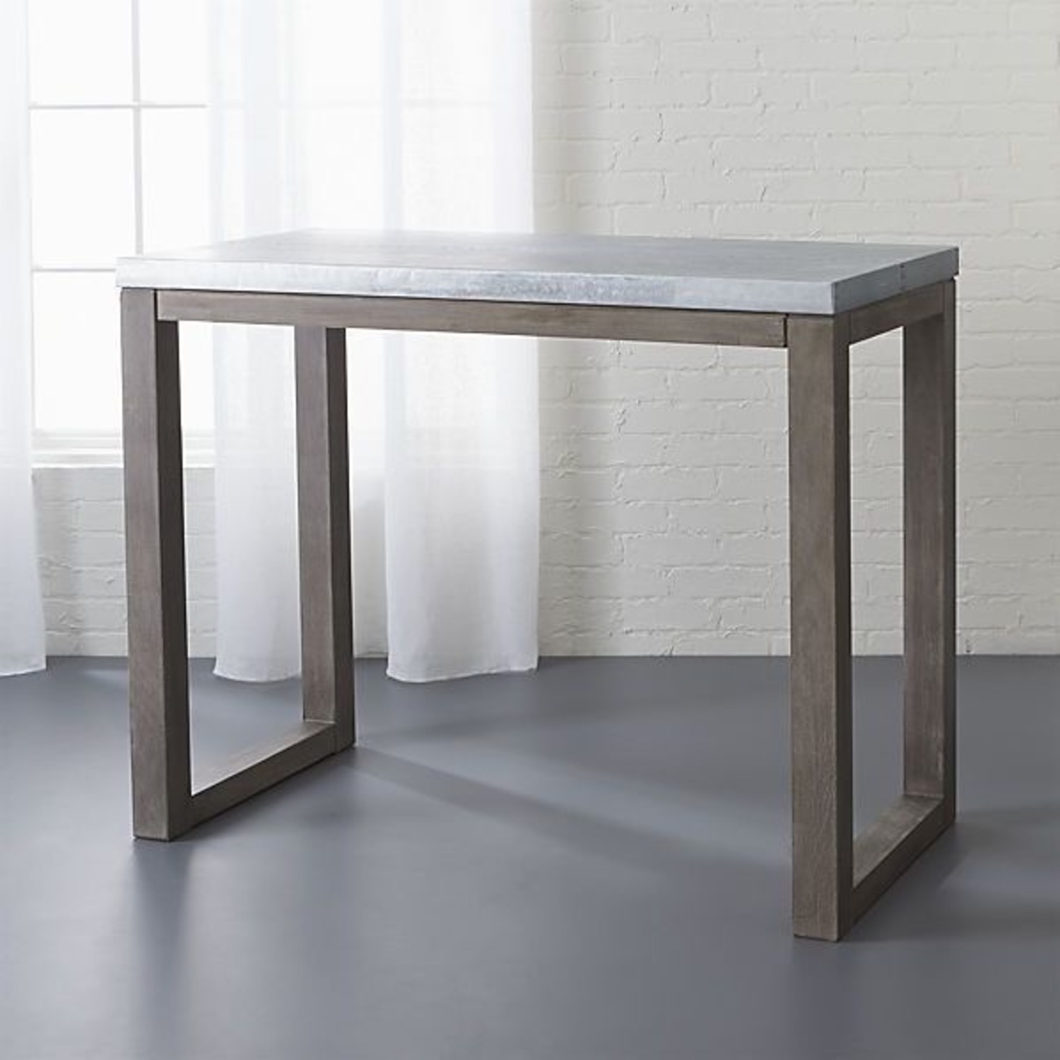 CB2 Industrial High Top Dining Table - image-4