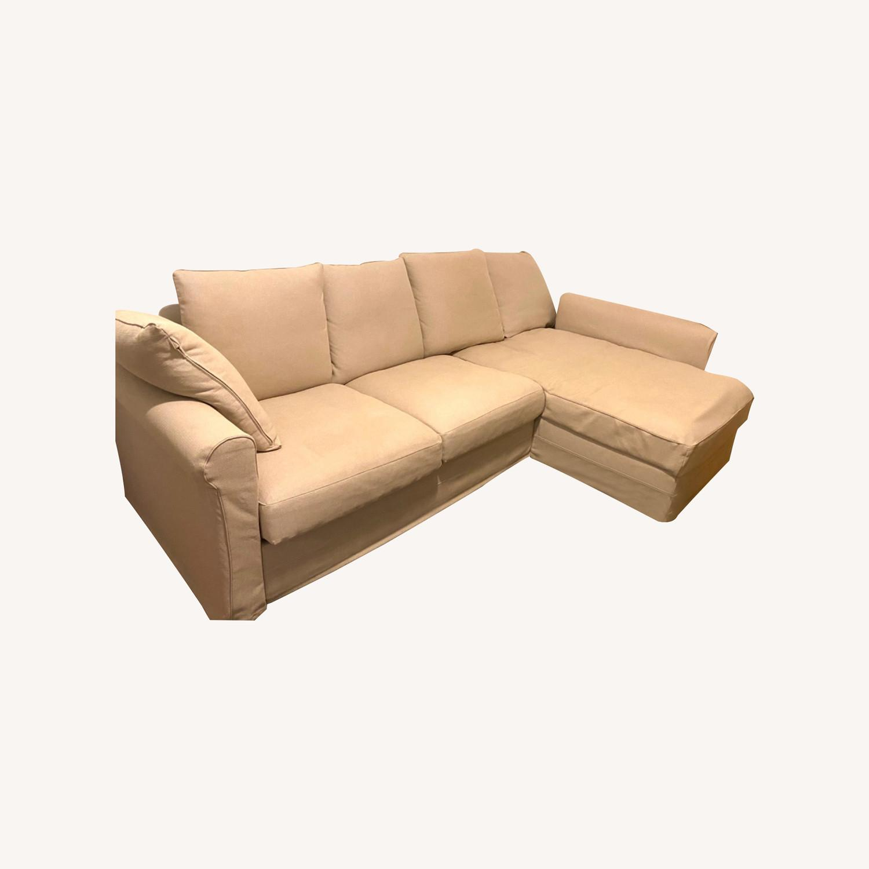 IKEA Sofa Beige - image-0