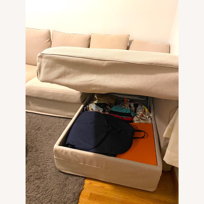 IKEA Sofa Beige - image-5