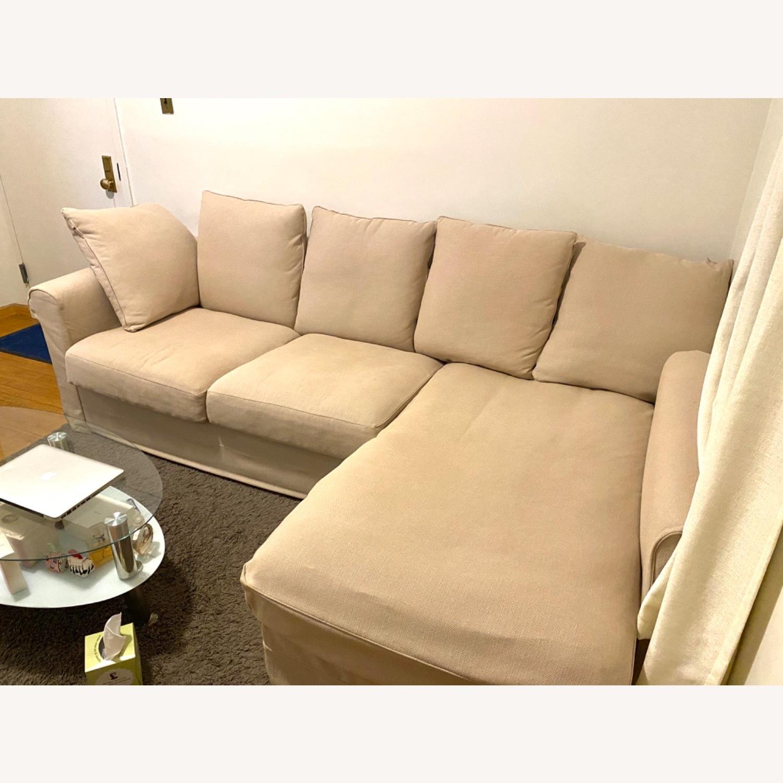 IKEA Sofa Beige - image-2