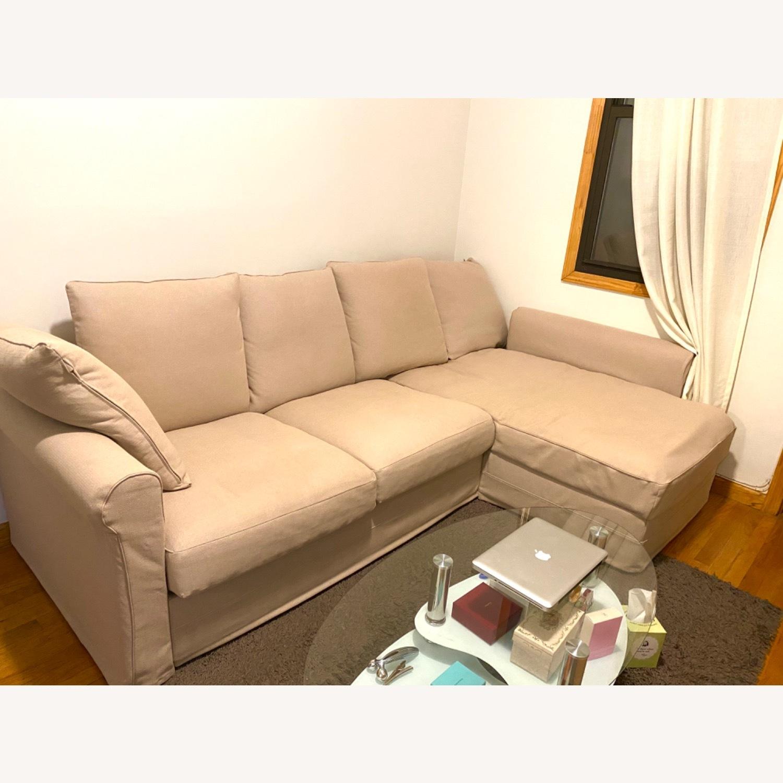 IKEA Sofa Beige - image-1