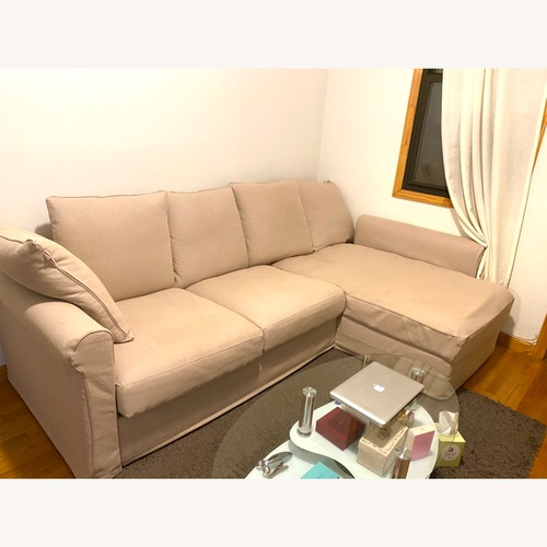 Used IKEA Sofa Beige for sale on AptDeco