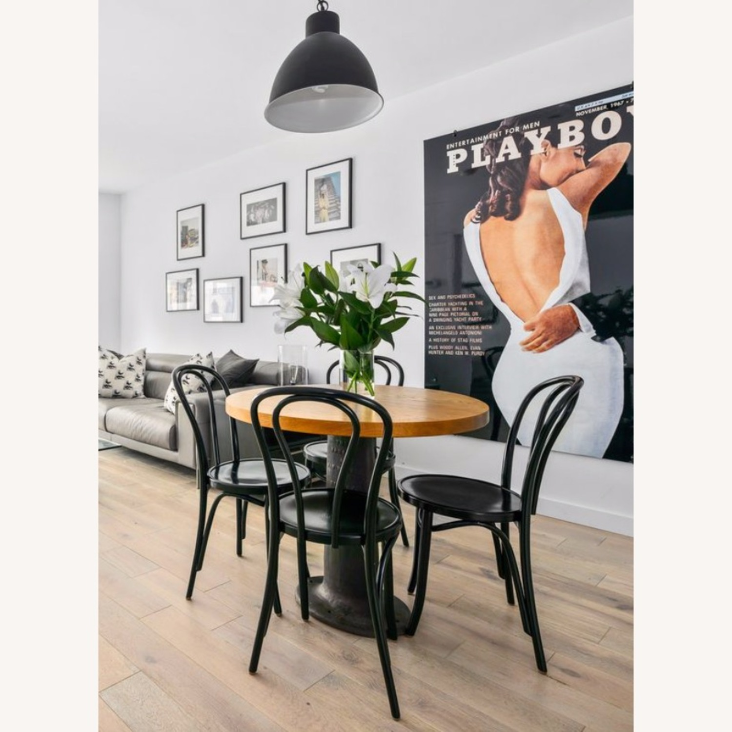 Vintage Wood and Iron Table - image-2