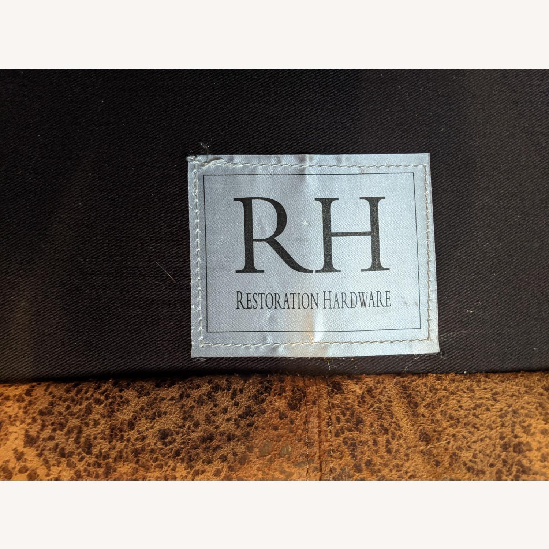 Restoration Hardware Maxwell Sofa -Italian Leather - image-5