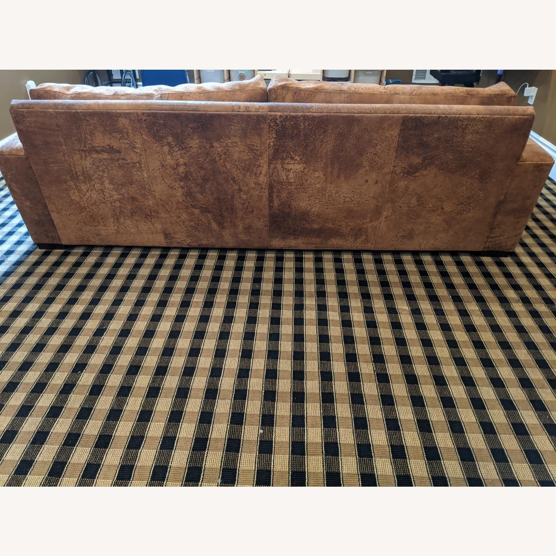 Restoration Hardware Maxwell Sofa -Italian Leather - image-4