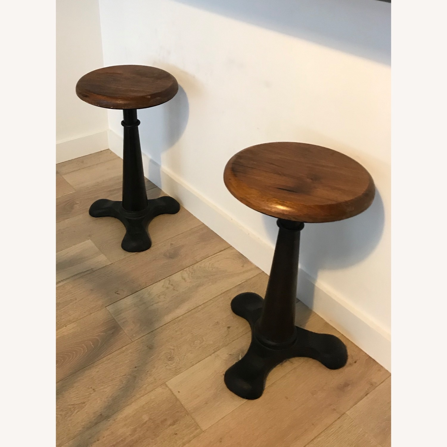 Set of Vintage Bar Stools - image-1