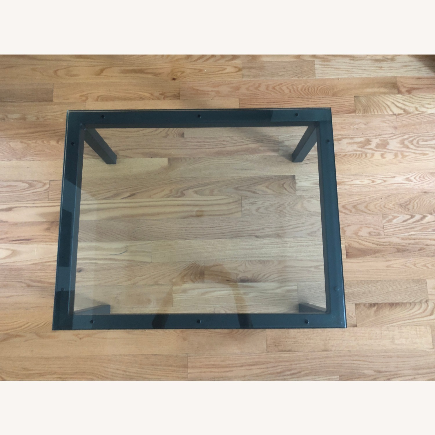 Room & Board Glass Top Parsons Coffee Table - image-2