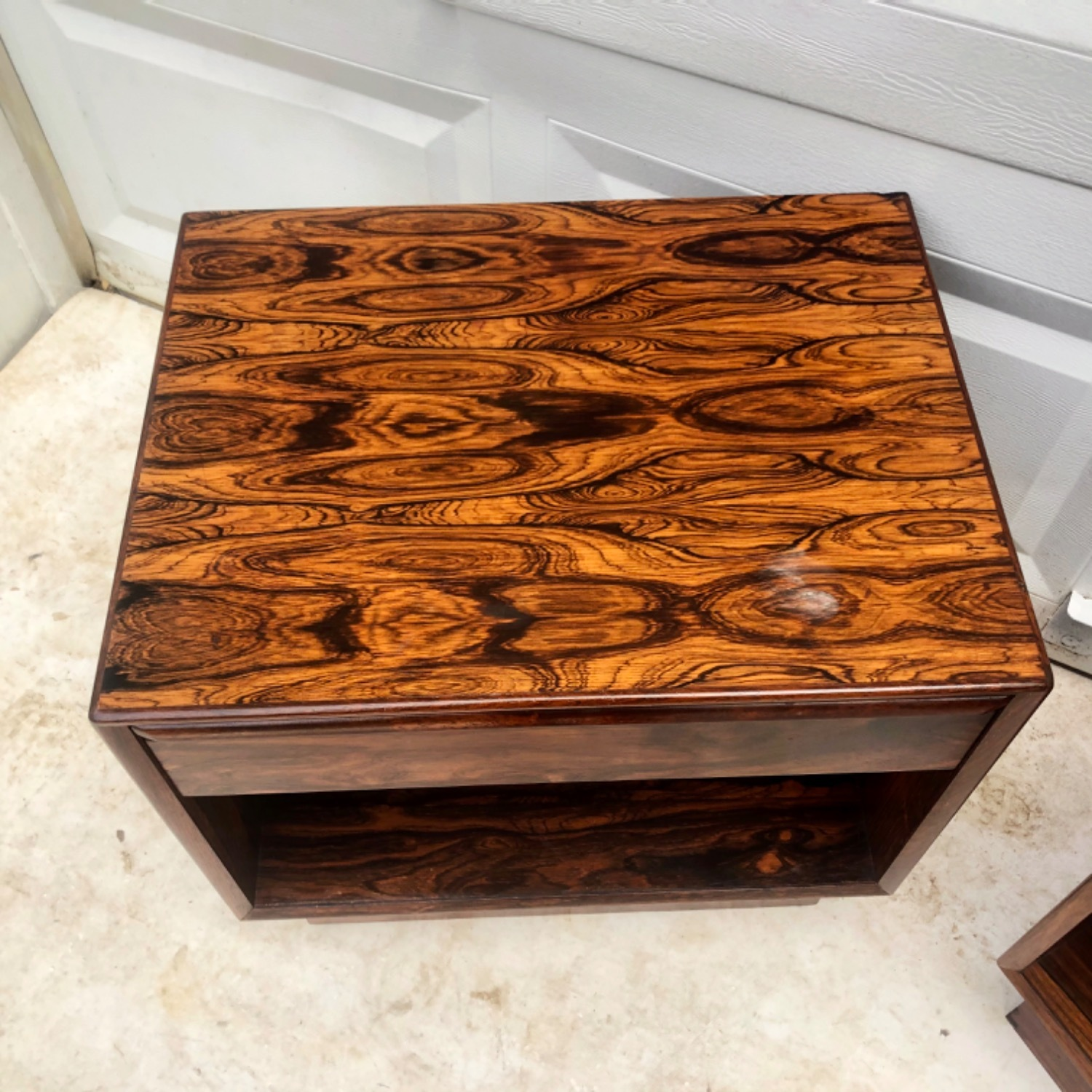 Mid-Century Rosewood Nightstands- a Pair - image-9