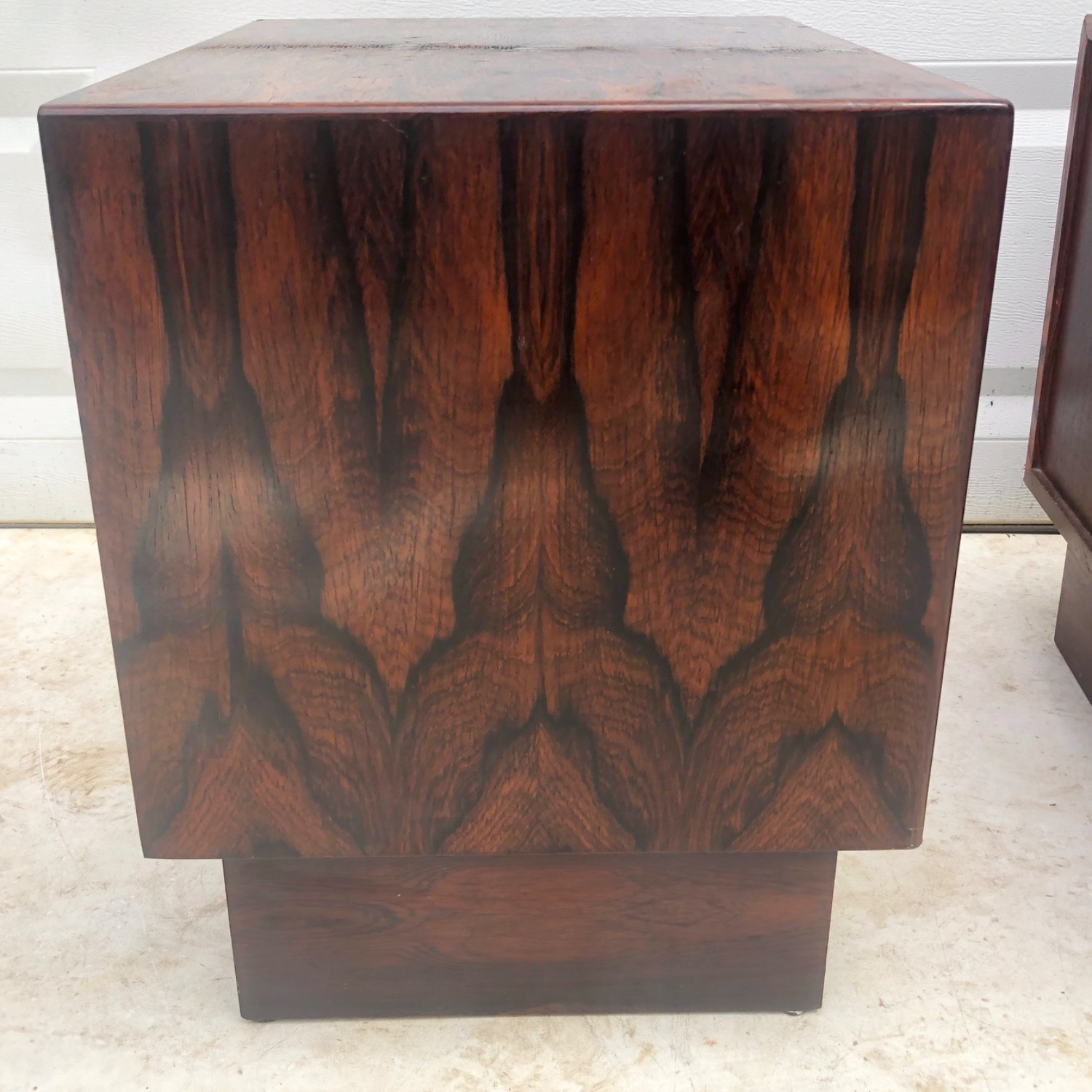 Mid-Century Rosewood Nightstands- a Pair - image-6