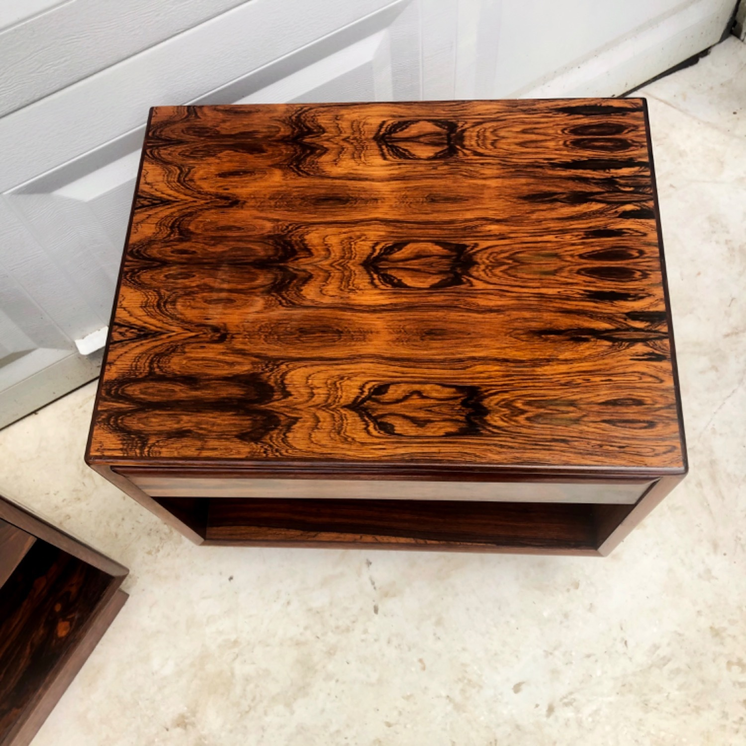Mid-Century Rosewood Nightstands- a Pair - image-8