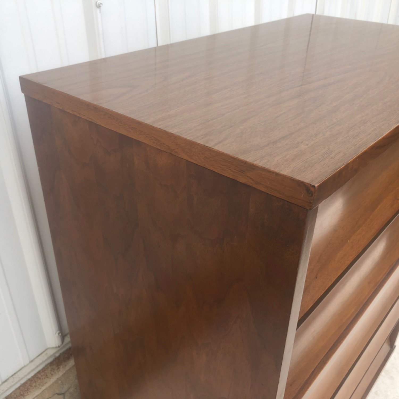 Mid-Century Highboy Dresser - image-14