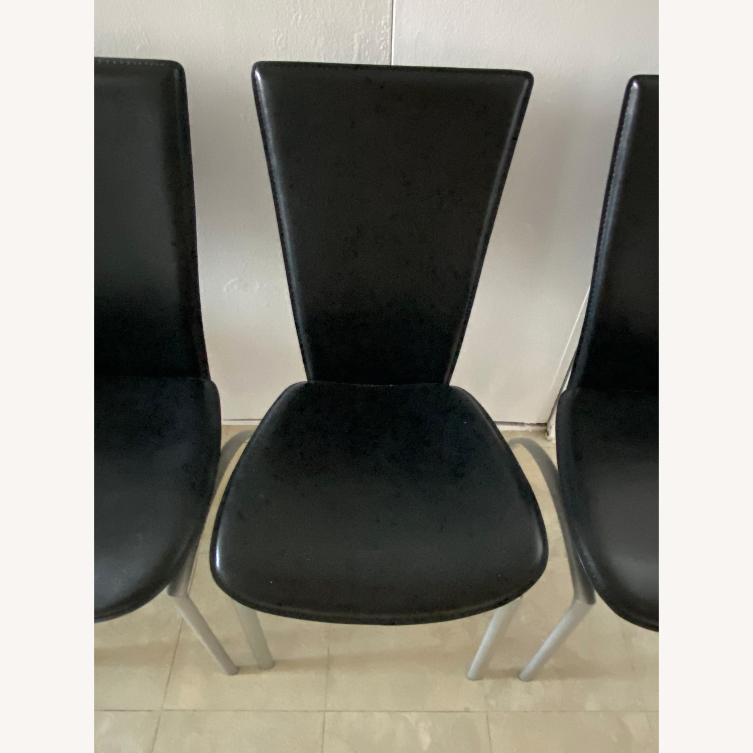 Glass Dining Table with 4 Chairs - image-24