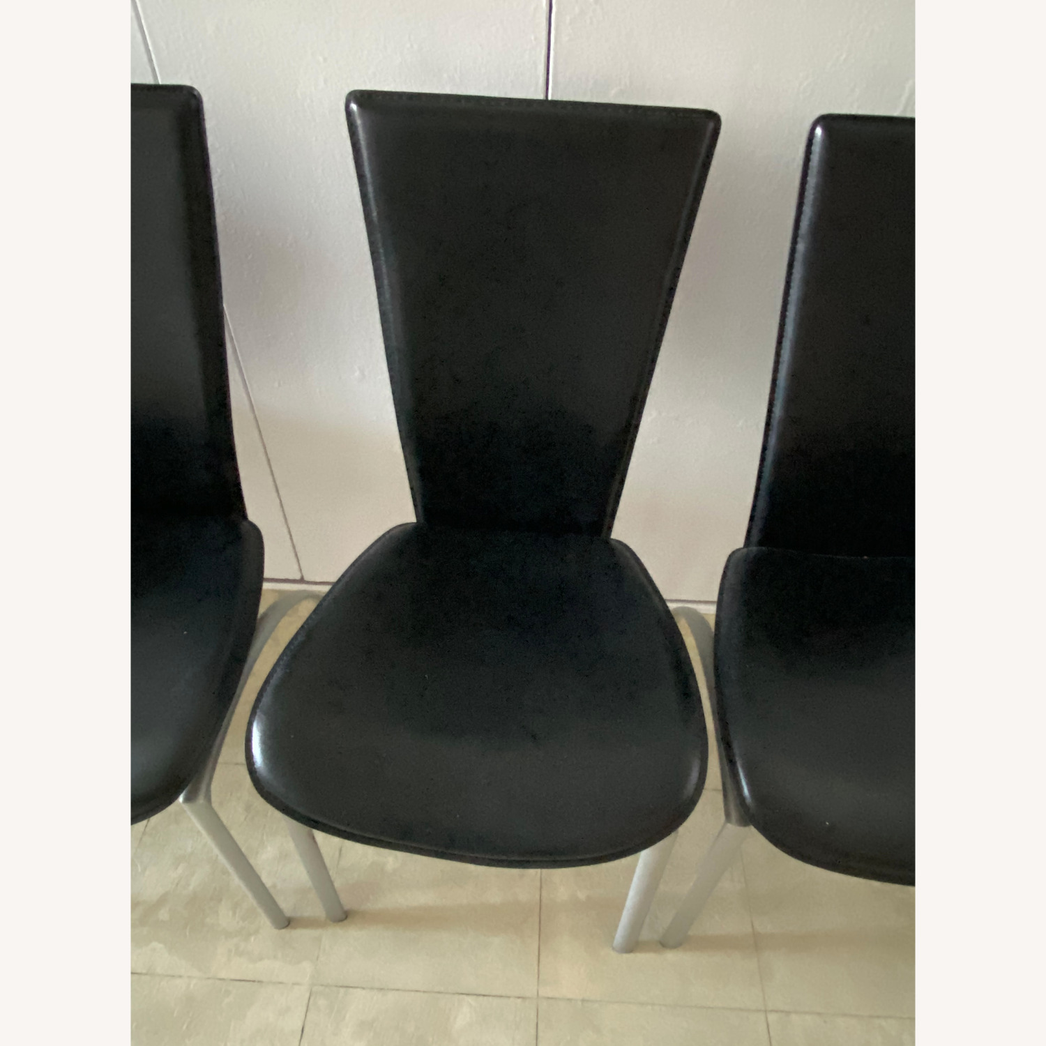 Glass Dining Table with 4 Chairs - image-25