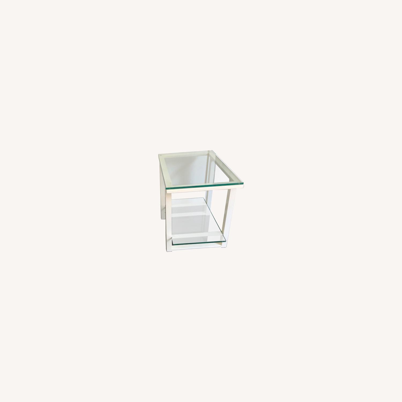 Crate & Barrel End Tables - image-0