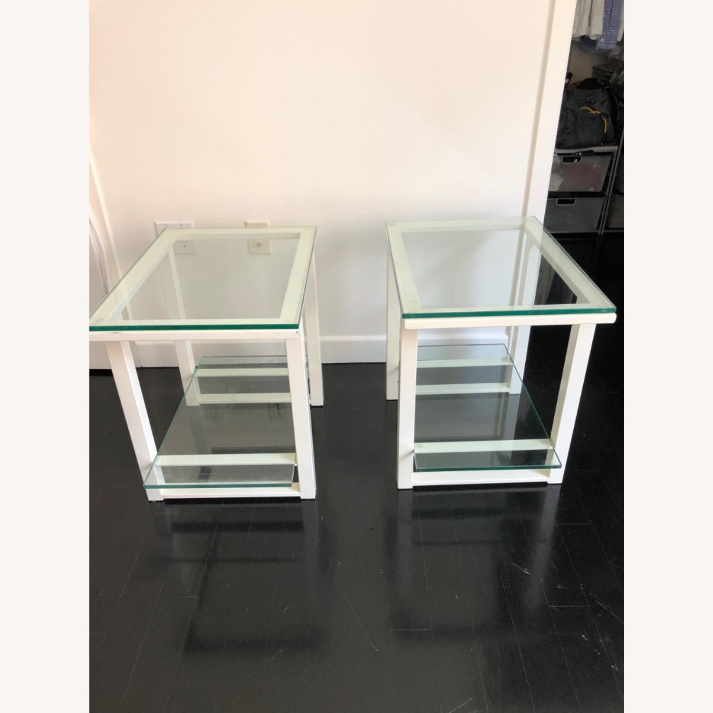 Crate & Barrel End Tables - image-3
